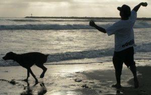 Jack at Beach