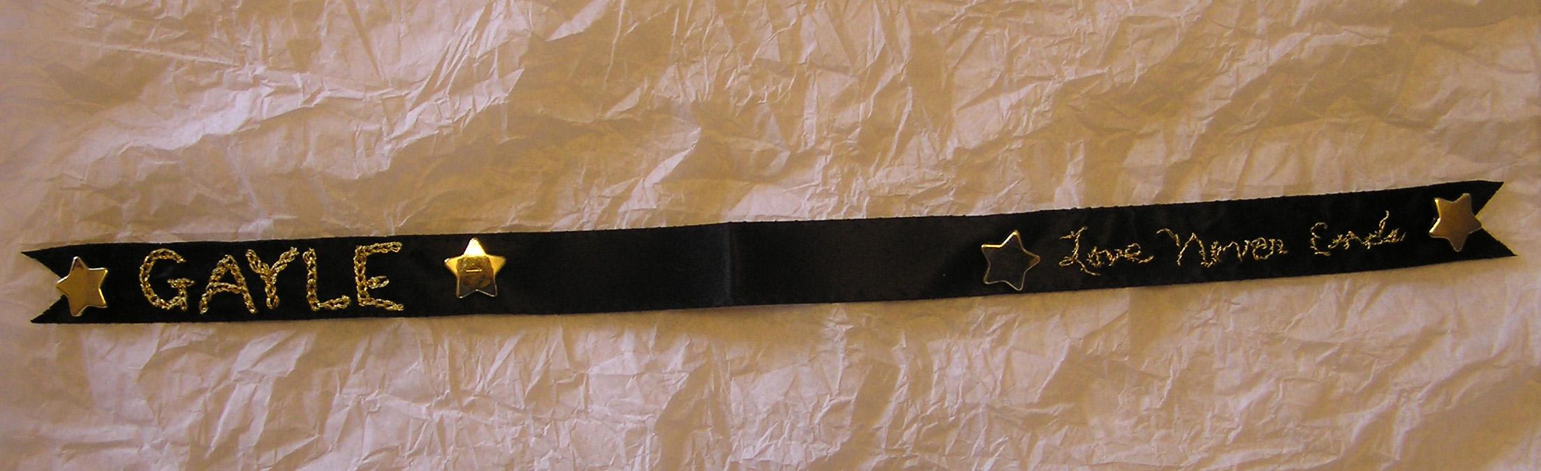 Sprirt Gayles ribbon